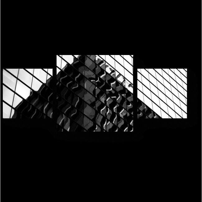 Модульная картина Отражения в стеклах