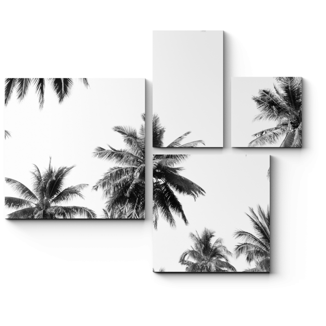 Модульная картина Тропический рай