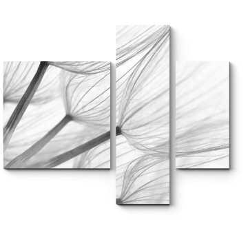 Модульная картина Легкость одуванчика