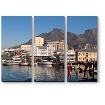Солнечный вид Кейптауна