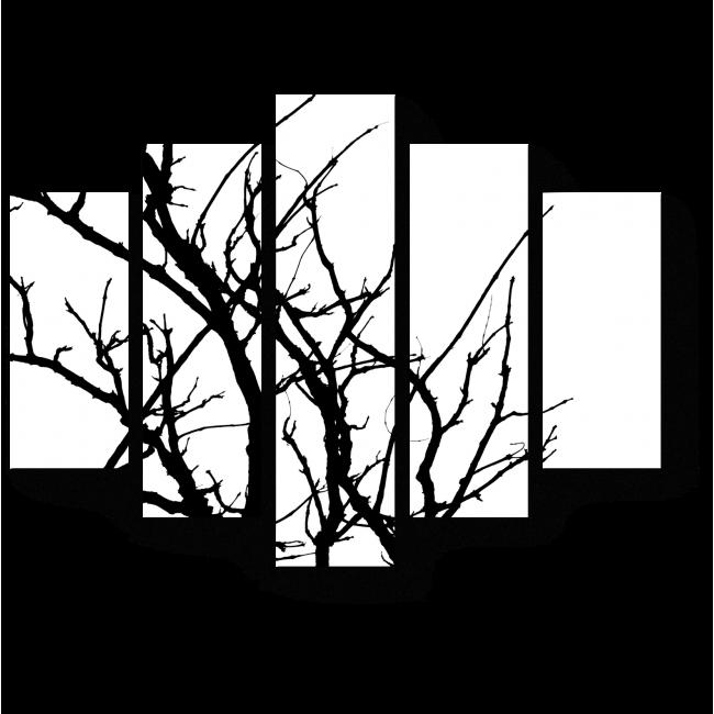 Модульная картина Осенняя пора