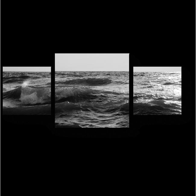 Модульная картина Шум прибоя