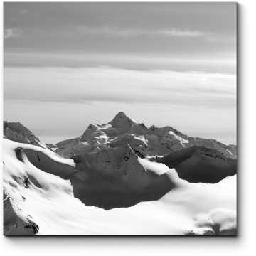 Модульная картина Горные вершины