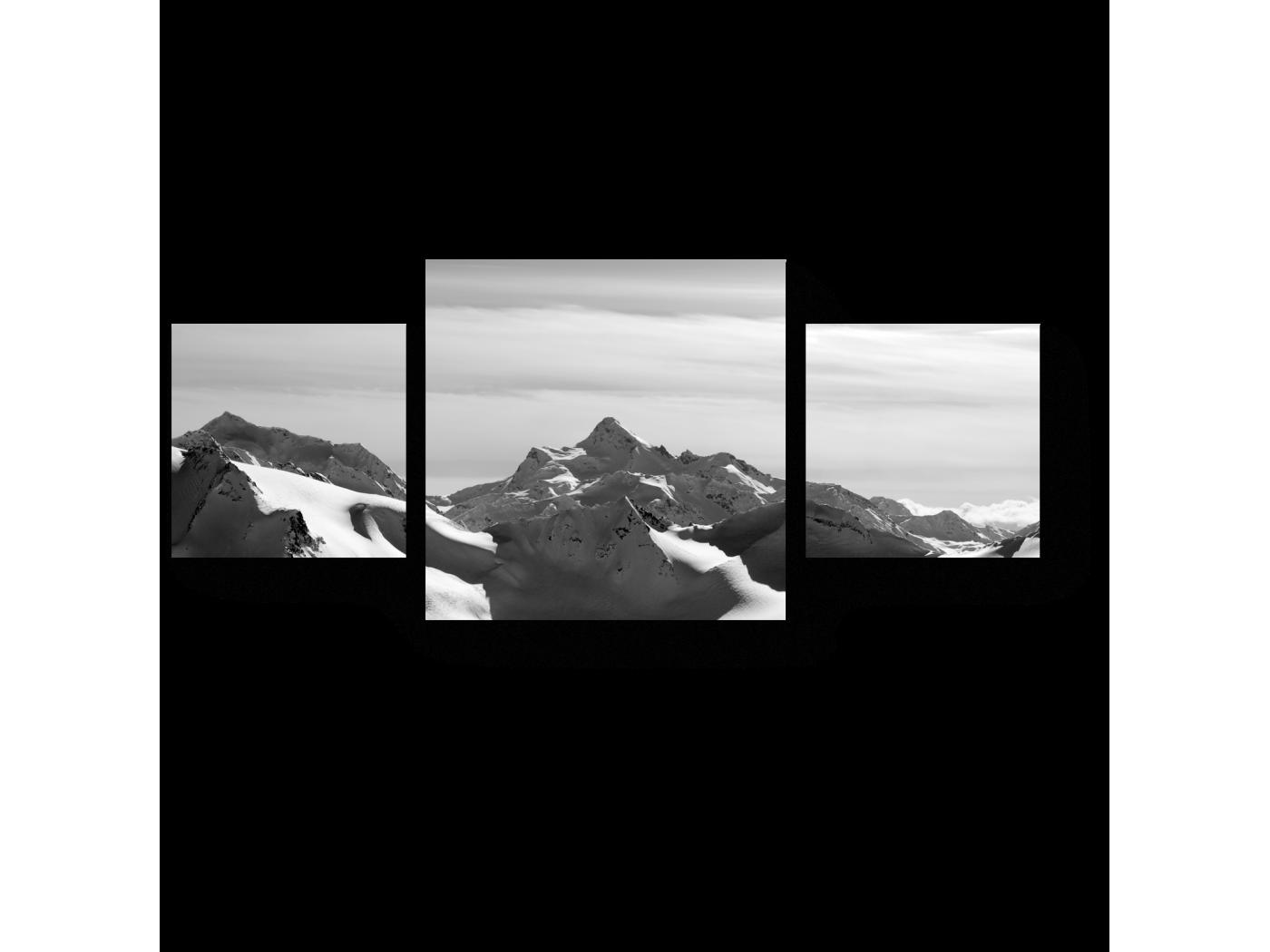Модульная картина Picsis, Горные вершины (60x43)