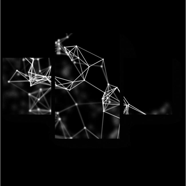 Модульная картина Созвездие