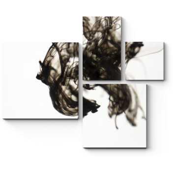 Модульная картина Чернила в воде