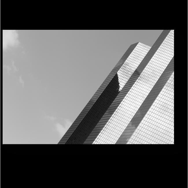 Модульная картина Отражая небо