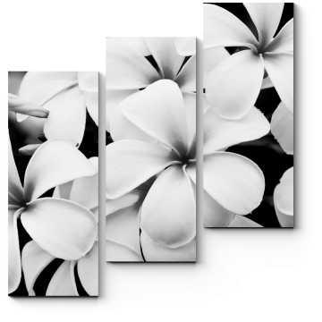 Модульная картина Лаконичные цветы
