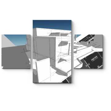 Архитектурный скетч