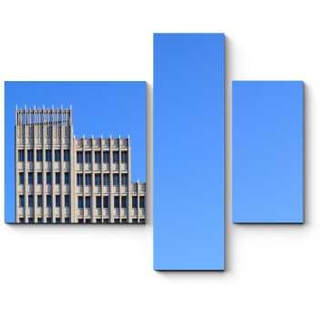 Модульная картина Одинокий небоскреб