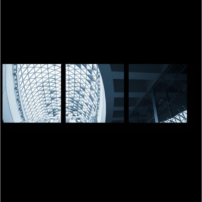 Модульная картина Стеклянный потолок