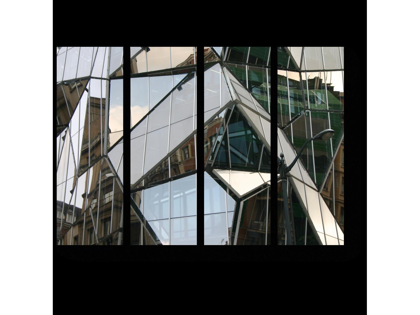 Модульная картина Современный облик (60x45) фото