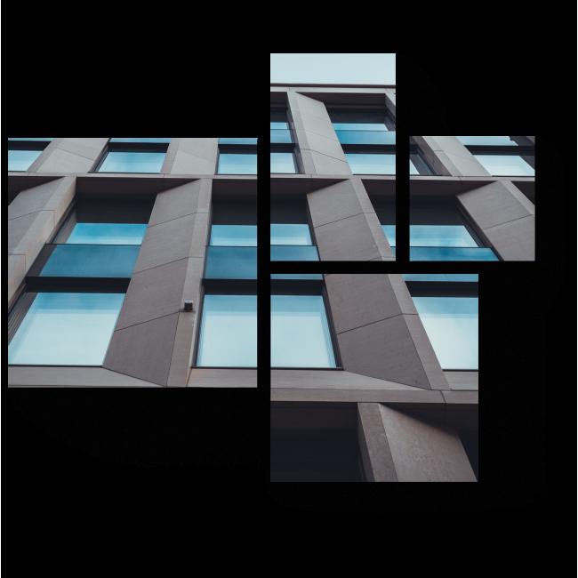 Модульная картина Эстетика простых форм