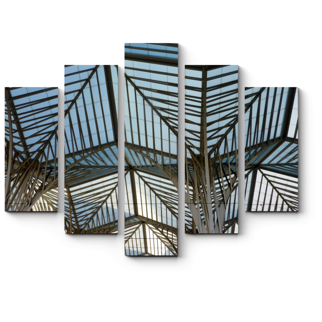 Модульная картина Станция в Лиссабоне