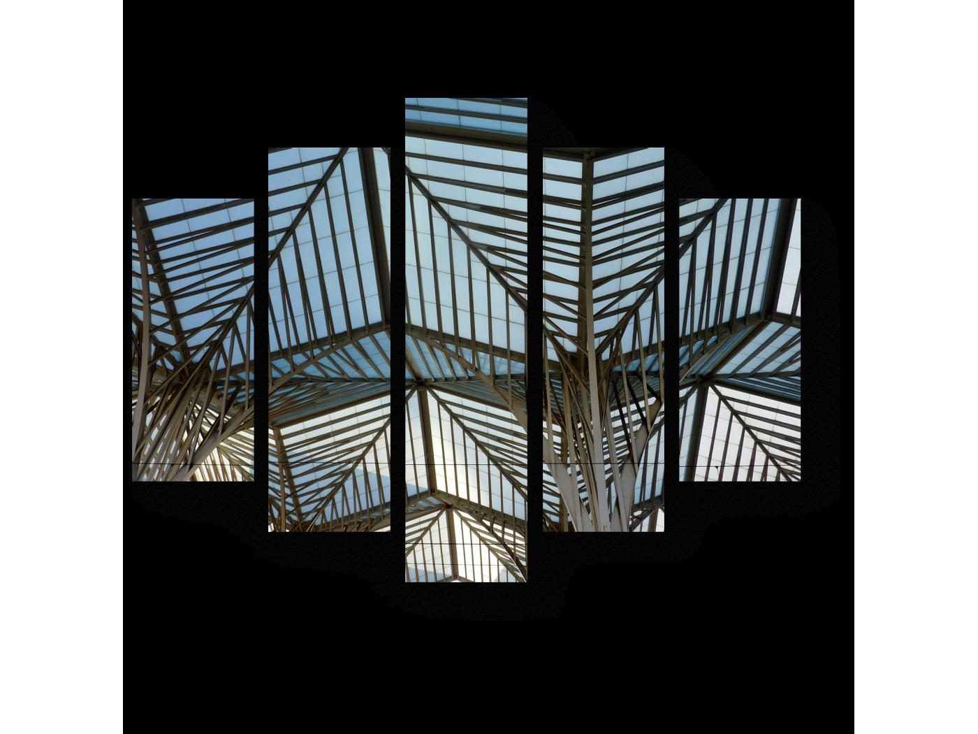Модульная картина Станция в Лиссабоне (75x60) фото