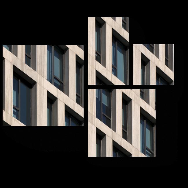 Модульная картина Линейная архитектура