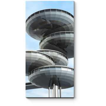 Модульная картина Фантастическая архитектура