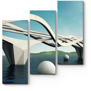 Пластичный мост