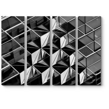 Модульная картина Геометрия архитектуры