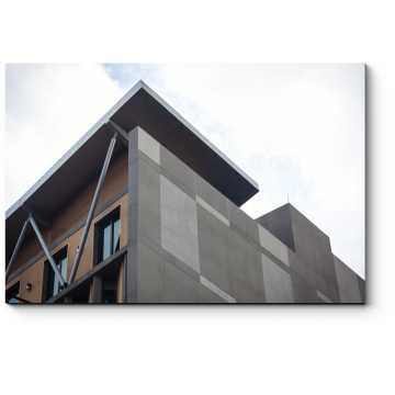 Модульная картина Минимализм в архитектуре