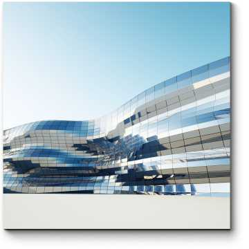 Модульная картина Плавные линии архитектуры