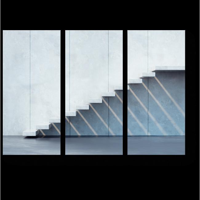 Модульная картина Лестница в стиле минимализма
