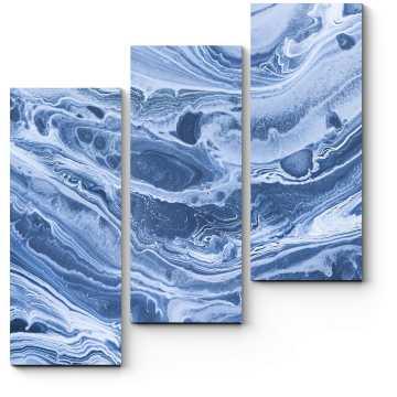 Модульная картина Акриловые волны