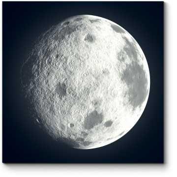 Модульная картина Безупречная Луна