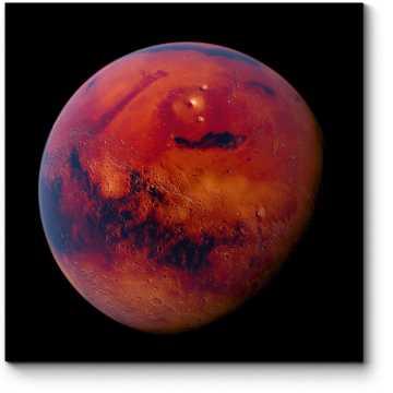 Модульная картина Огненная планета