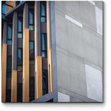 Модульная картина Абстракция в архитектуре