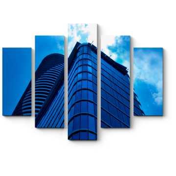 Модульная картина Бескрайний синий