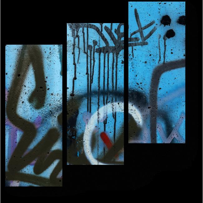 Модульная картина Искусство граффити