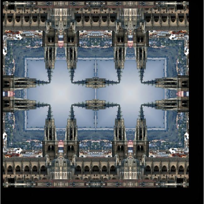 Модульная картина Испанский калейдоскоп