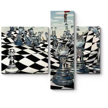 Модульная картина Иллюзия игры