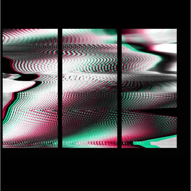 Модульная картина Нет сигнала