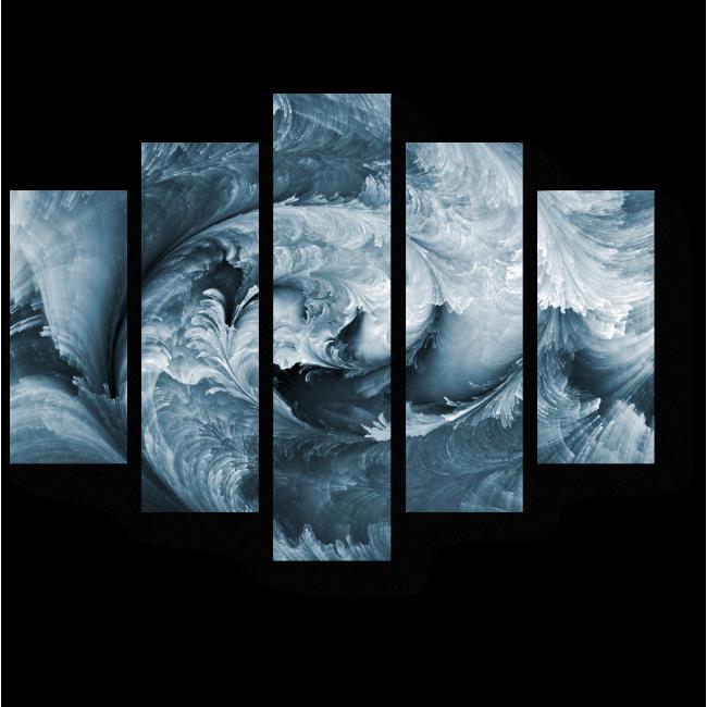 Модульная картина Обманчивый водоворот