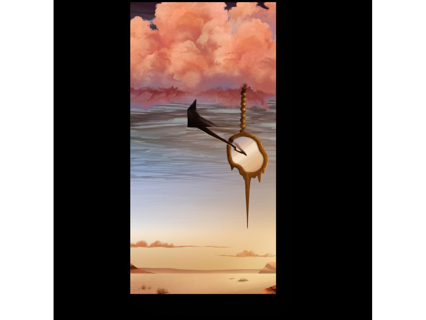 Модульная картина Вверх тормашками (20x40) фото