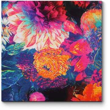 Цветочное полотно