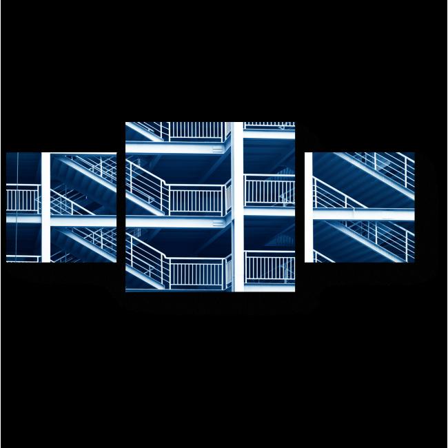 Модульная картина Лаконичность городского дизайна