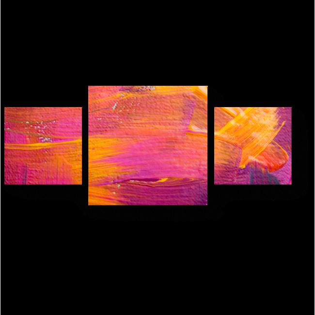 Модульная картина Поэзия цвета