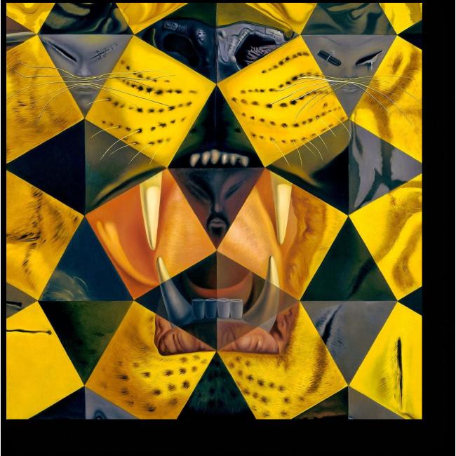Модульная картина Взгляд пантеры