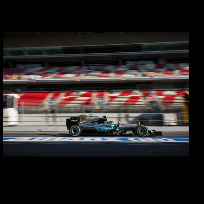 Модульная картина На Формуле 1 в Барселоне