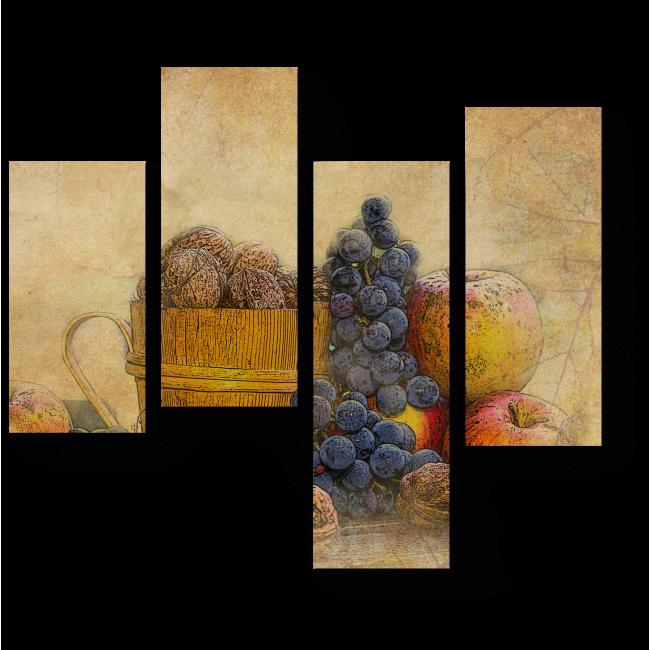 Модульная картина Осенняя композиция
