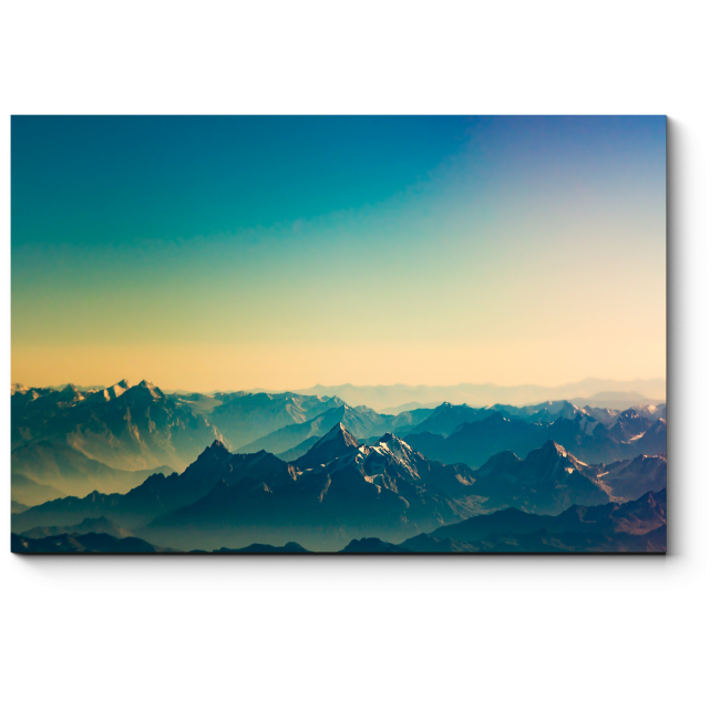 Модульная картина Неприступные Гималаи