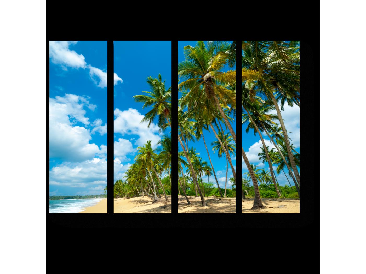 Модульная картина Пляж на Шри-Ланке (60x45) фото