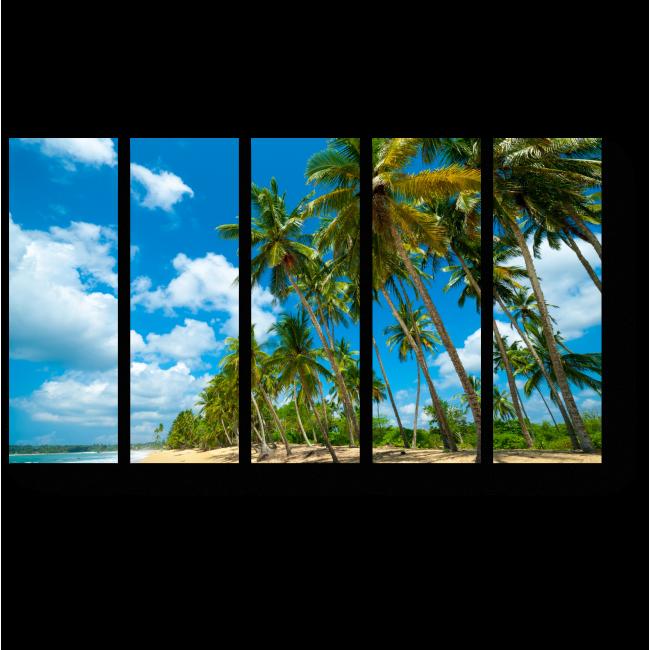 Модульная картина Пляж на Шри-Ланке