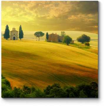 Летний закат в Тоскане