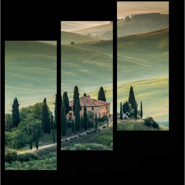 Модульная картина Дух Тосканы