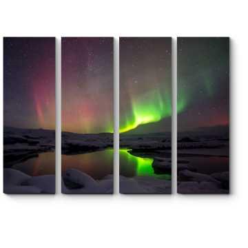 Прекрасное сияние Исландии