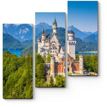 Сказочный замок Нойшванштайн, Германия